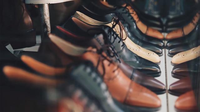 Schuhsammlung